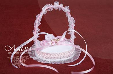 Корзиночка для свадебных колец